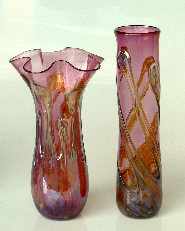 cranberry vasesw