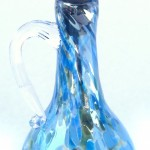 lt blue oil bottle