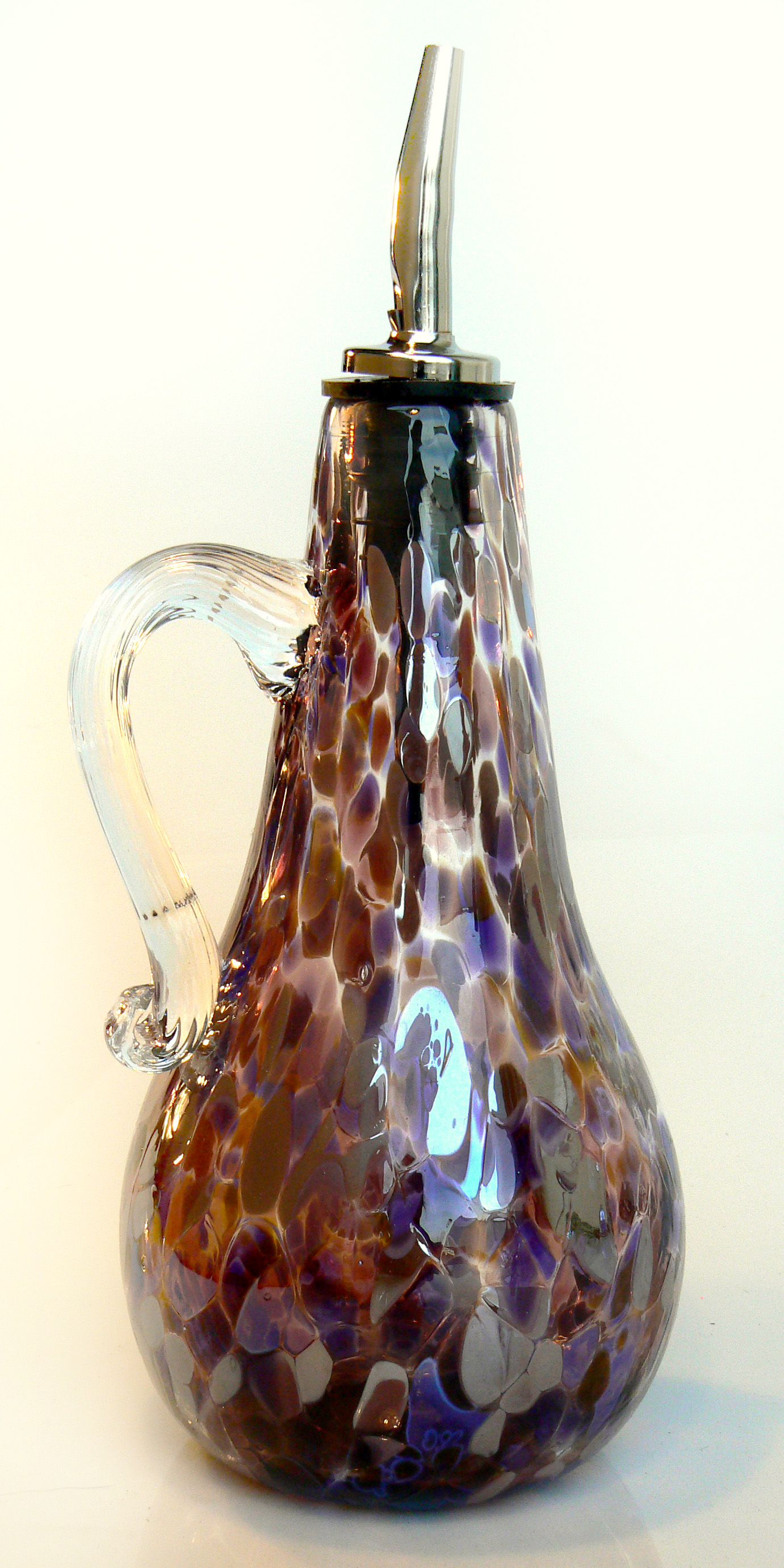purple oil bottle