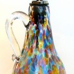 rainbow oil bottle
