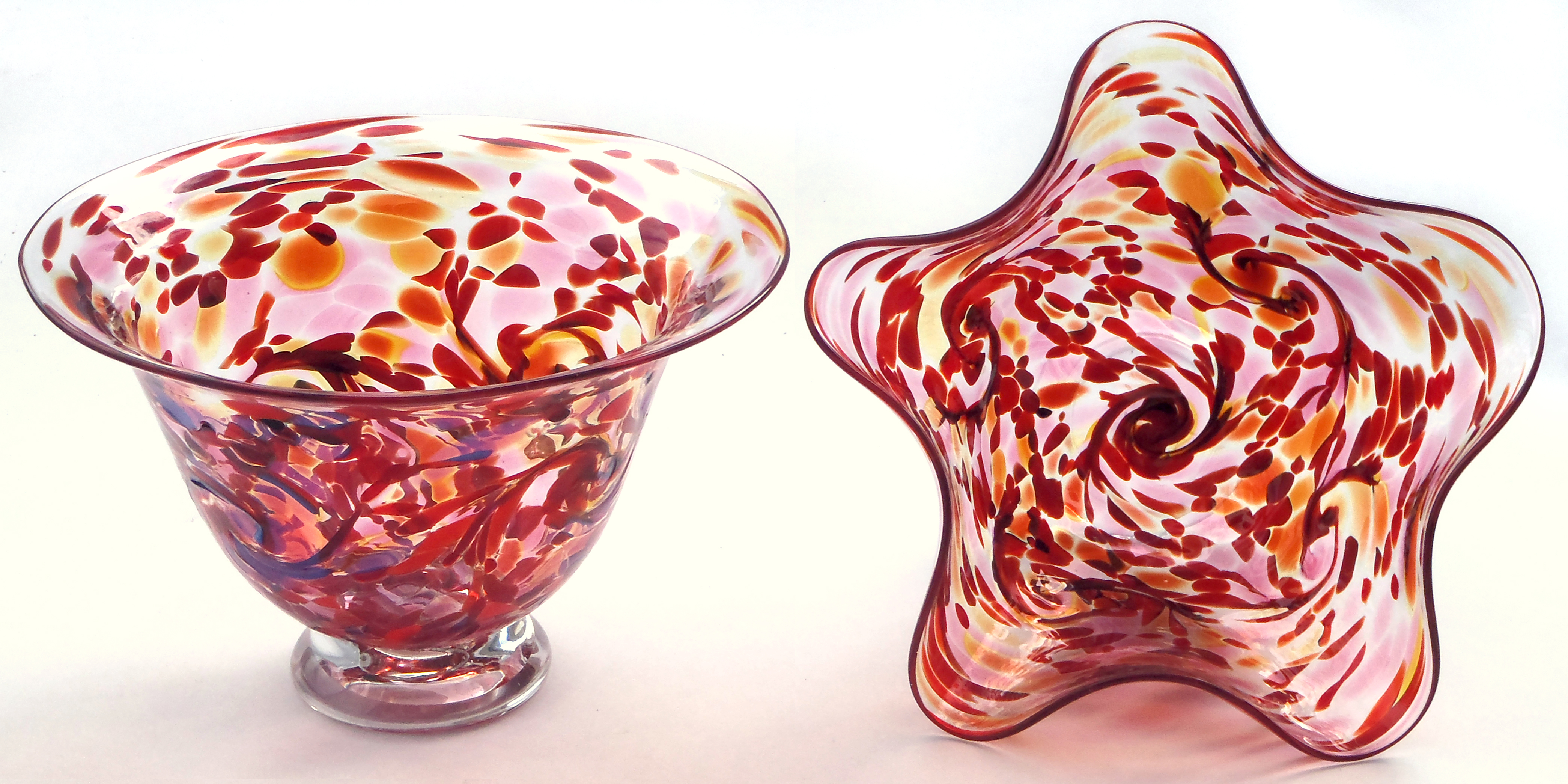 red speckle vessel