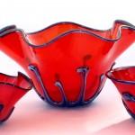 red purple metallic vesel