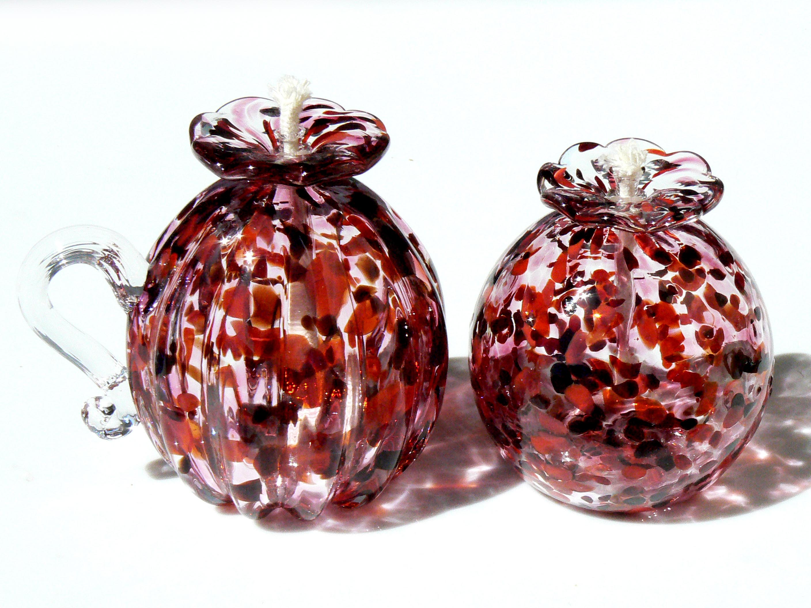 red mix oil lamps